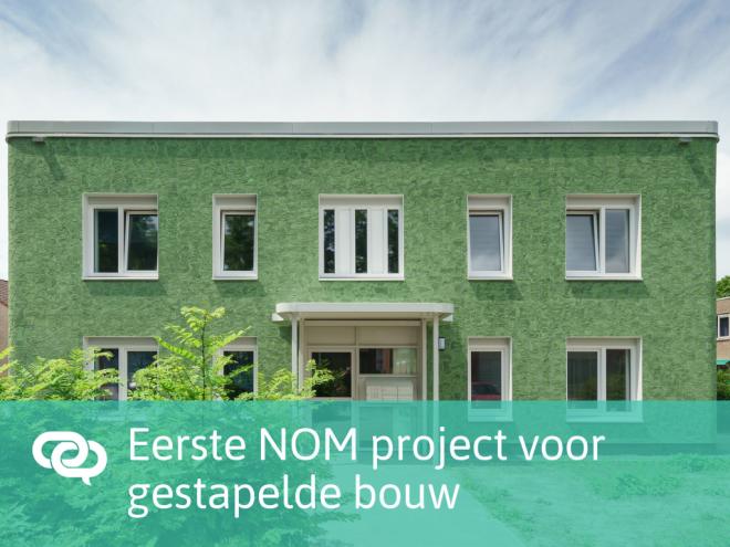 Eerste gestapelde gebouw in Brabant volgens NOM principe