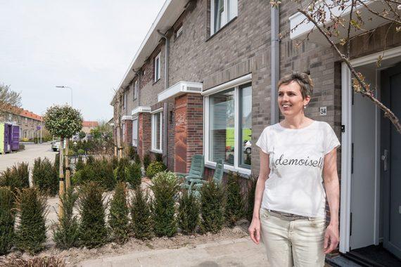 Zes woningen naar nul-op-de-meter in Sommelsdijk