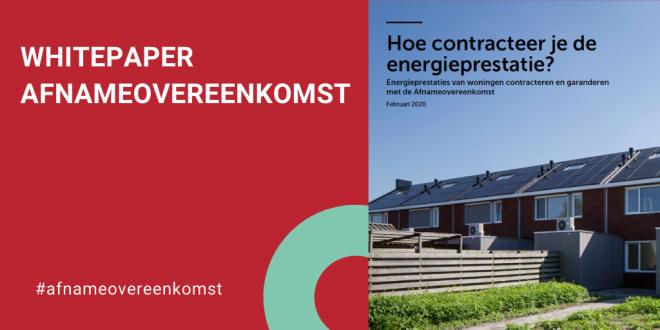 Whitepaper Afnameovereenkomst: Hoe contracteer je de energieprestatie?
